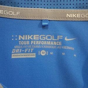 Nike Tops - Nike Golf Dri Fit Sleeveless Tour Performance Polo